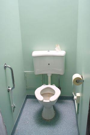 Disable toilet Banque d'images