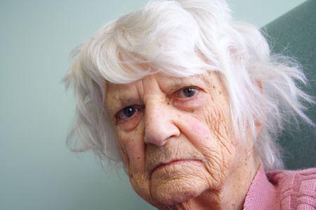 94 year old senior citizen