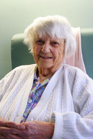 94 year old Senior citizen portrait