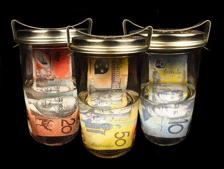 Preserving Australian money photo