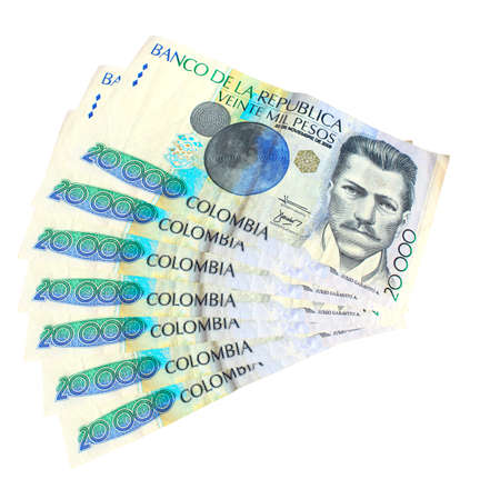 pesos: Colombian money
