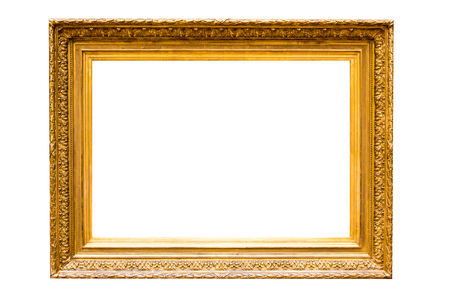 xxxl: Antique Gold Picture Frame XXXL
