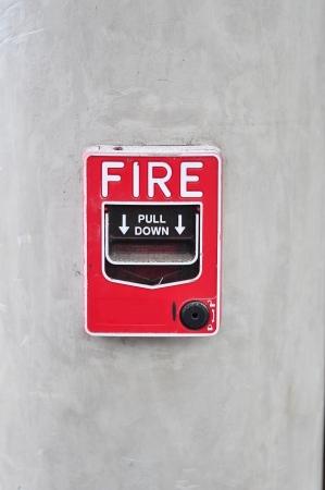 Fire alarm switch photo