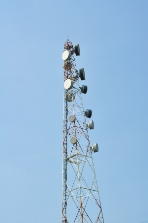 signal tower  photo
