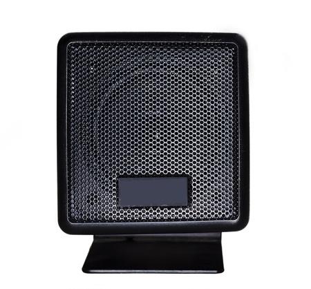 Isolated music object - loudspeaker Stock Photo - 8861737