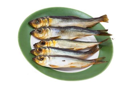 Golden  Smoke-dried  Fish photo