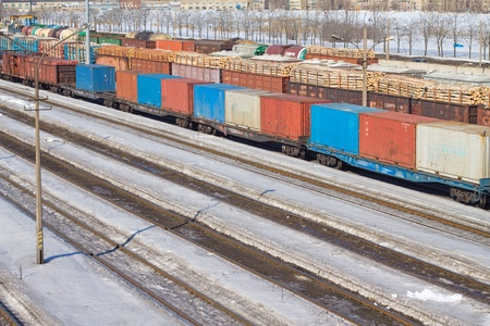 goods train: Freight Cars