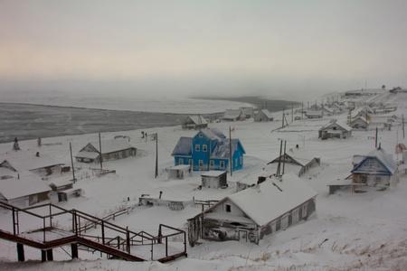 sleet: Dark winter storm ( Commander Islands )