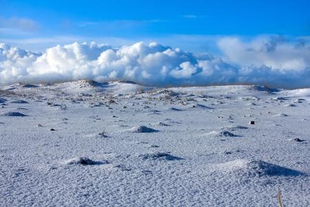 distances: Snow distances of the East of Russia (Commander Islands)