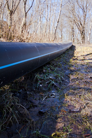 deliverables: the pipeline among the nature in the country