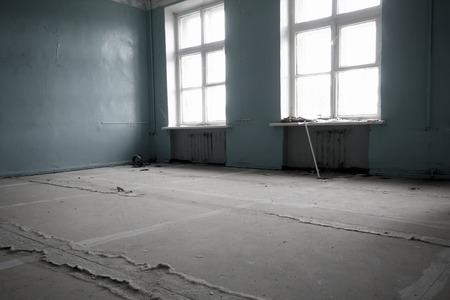 abandoned room: abandoned school class room