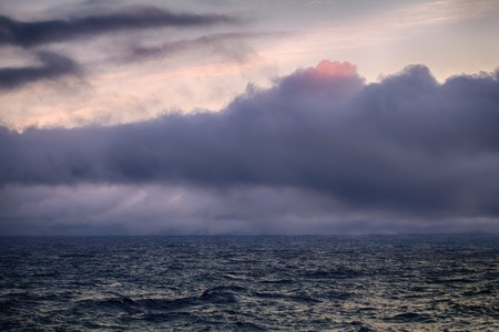 Kara sea (basin of Arctic ocean) in high Arctic (Novaya Zemlya archipelago). old name of Kara sea - Ice cellar, but now no ice