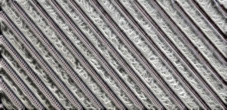フラクタル明るい背景を抽象化します。単調な産業構造、エネルギーの流れ、ジオメトリ、並列処理、対称性 写真素材