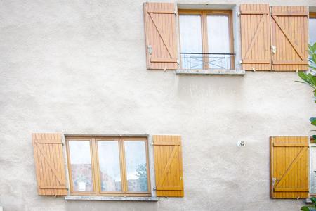 window shutters, Mulhouse, France