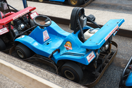 Karting car, Plymouth, Devon United Kingdom August 20 2018
