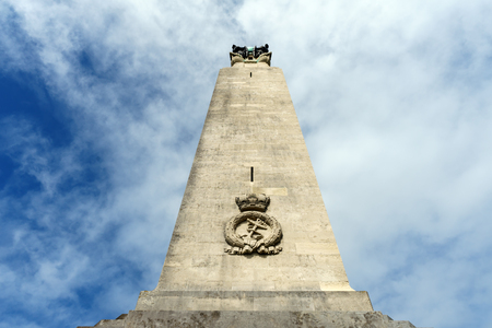 Plymouth Naval Memorial, Commonwealth War Graves Commission, Plymouth Hoe, Devon, United Kingdom, August 20 2018