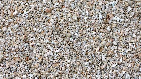 Exfoliated vermiculite mineral as background used in gardening.