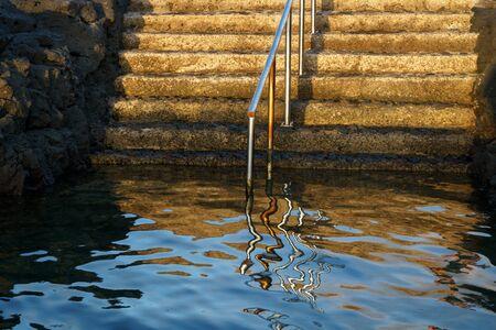 Natural ocean swimming pools in Gran Canaria, Canary islands, Spain