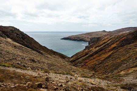 beautiful landscape of Ponta de Sao Lourenco and Atlantic Ocean, Madeira.