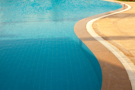 Water in the pool background, vacation in Egypt