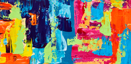 abstract paintings: Abstract oil painting. Art brushstrokes watercolor. Modern and contemporary artwork. Colorful background