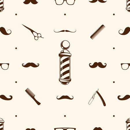 barbershop: Seamless barbershop pattern