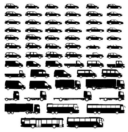haulage: set car silhouette