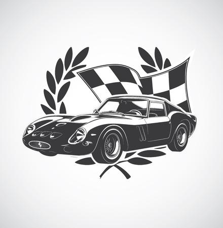 racing sign: racing Car fer