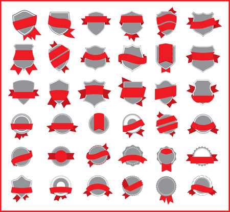 choise: red stickers set 2