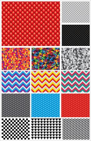 color registration: set of vector backgrounds