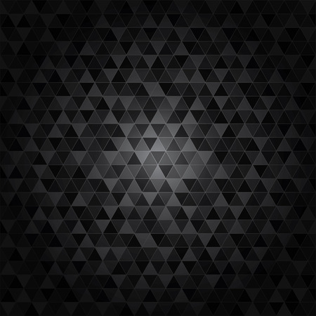 Abstract texture triangle
