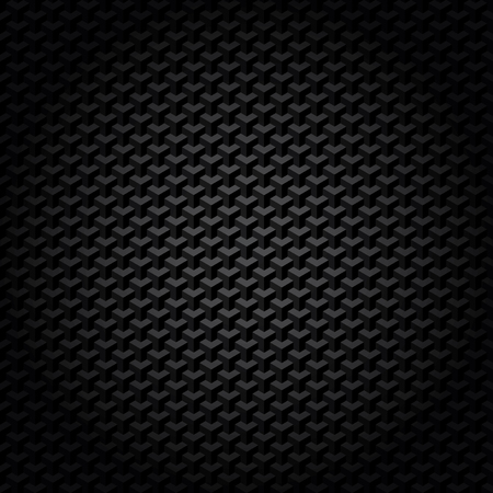 matter: black geometric pattern