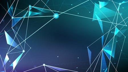 Resumen digital de fondo, estilo futurista de la tecnología del futuro