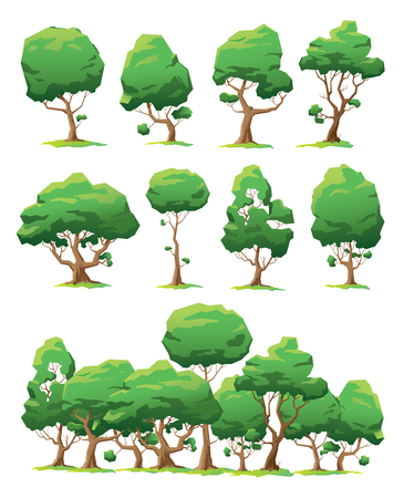 marge: Set of vector trees of various forms