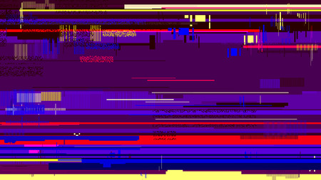 corrupted: Vector glitch background corrupted image vector file, Digital backdrop