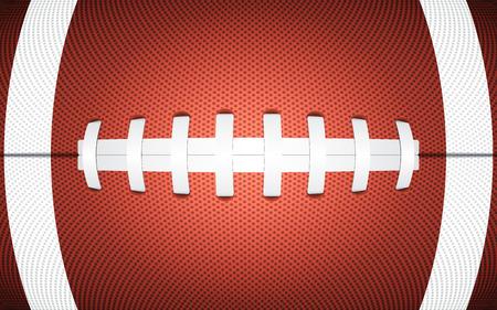ラグビー ボールのテクスチャをスポーティな背景、ベクトル イラスト