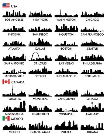 街並み北アメリカ