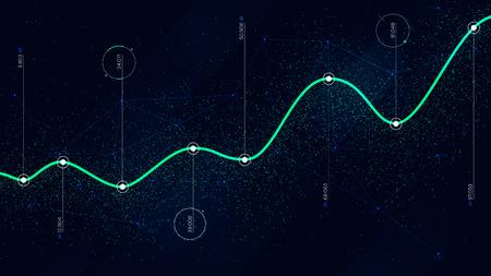 Analyse infographique des technologies de visualisation des algorithmes de Big Data Vecteurs