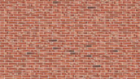 Alte rote Backsteinmauer nahtlose Grunge-Vektor-Hintergrund für Design Vektorgrafik