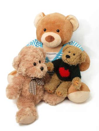 Teddy Bears family Stock Photo