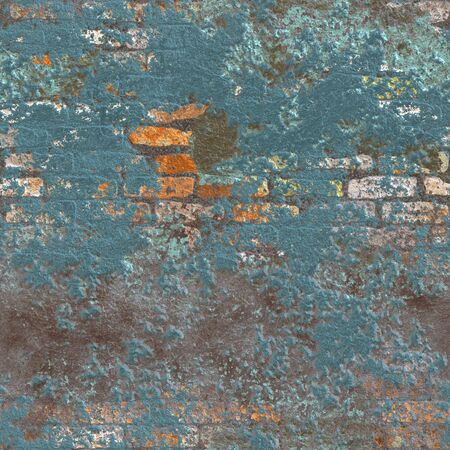 Old Brick Wall Seamless Texture or Background