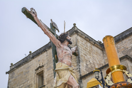Holy Week in Spain, procession of \Christ the expiry, Our Lady of Hope\, Andalusia, C?diz