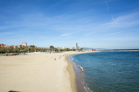 beaches of spain: Barcelona beaches Spain