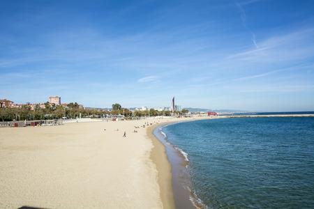 Playas de Barcelona España Foto de archivo - 40938731