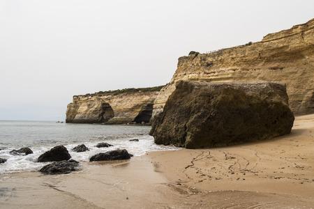 algarve: Benagil beach, Algarve, Portugal