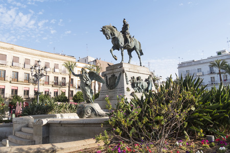 jerez de la frontera: Arenal Square, Jerez de la Frontera, Spain Stock Photo