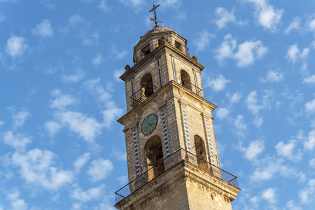 minaret: Minaret of the Jerez de la Frontera Cathedral, Spain
