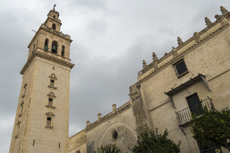Santiago Church, Lebrija, Sevilla, Spain