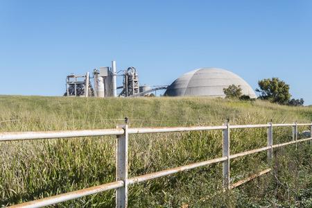 jerez de la frontera: Cement factory, environmental impact, Jerez de la Frontera, Spain