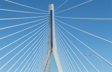 pillage: New Pepa bridge in Cadiz, Andalusia, Spain